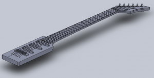 Neck-Thru Middle Section