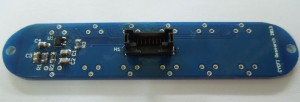 The Hex Pickup PCB with components