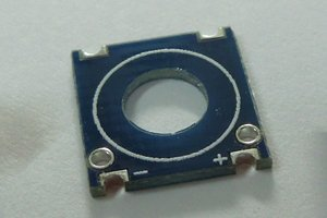 Castellated PCB Coil Base