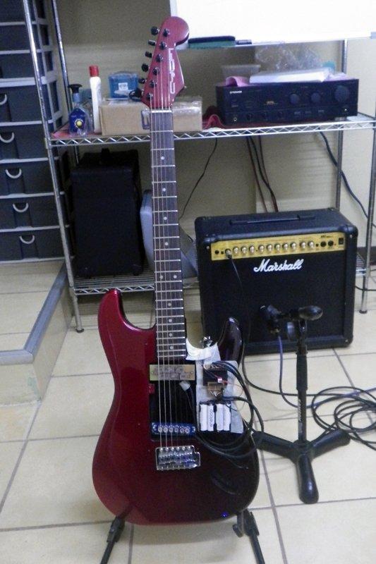 Iron Man Test Guitar