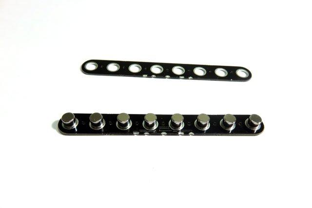 PCB Flatwork with Neodymium magnets.