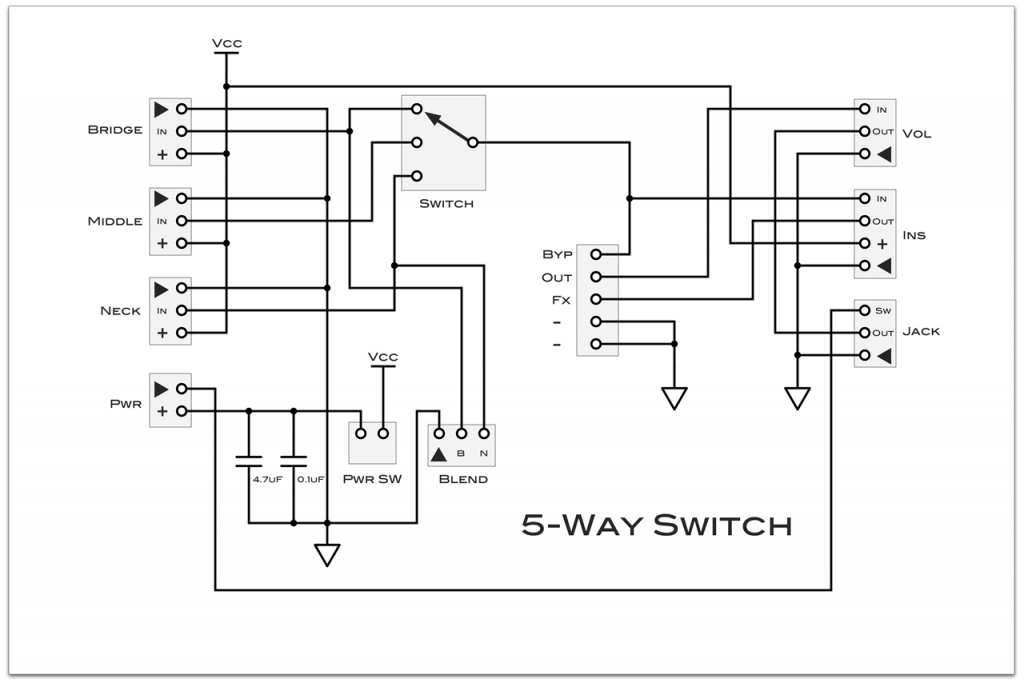 5-Way-Switch